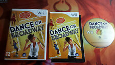 DANCE ON BROADWAY NINTENDO WII WIIU SHIPPING 24/48H