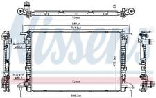 Kühler, Motorkühlung NISSENS 606573 für AUDI