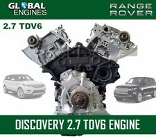 LAND ROVER DISCOVERY 2.7 TDV6 ENGINE SUPPLY & FIT