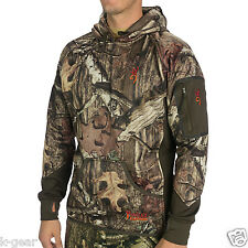 BROWNING Hell's Canyon Fleece Hooded Hunting Jacket Mens L/XL Mossy Oak NEW