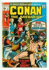 CONAN #2 VG- 3.5 BARRY SMITH COMIC 1970