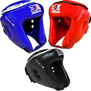 3X Sports Kids Boxing Head Guard Martial Arts Head Gear MMA Junior Kick Helmet