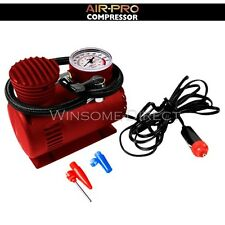 Portable 12v 250 PSI  Mini Air Compressor Bike Car Van Truck Tyre Inflator Pump
