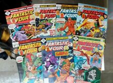 Fantastic Four issues #182,183,184,185,187,193,198(Marvel,1970s)Classic F.F.