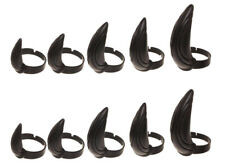 Marvel Black Panther Metal Claw Costume Cosplay Finger Tip Rings