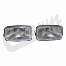 Fog Light Set Left & Right Jeep Grand Cherokee ZJ 1993-1995 4713582K Crown