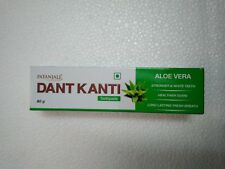 Patanjali Dant Kanti Toothpaste Aloe Vera Healthy & Strong Teeth 80 g