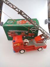 Gama Feuerwehr Leiterwagen in OVP 60er Jahre (934)