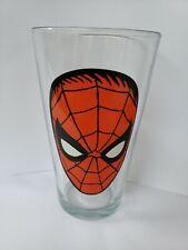 MARVEL SPIDER MAN DRINKING GLASS 16 OZ