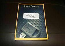 John Deere 450g 455g 550g 555g 650g Crawler Repair Service Manual Tm1404