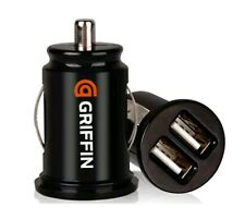 2× Twin GRIFFIN  USB In Car charger cigarette lighter adapter for All  phones