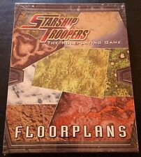 STARSHIP TROOPERS The Roleplaying Game FLOORPLANS Box Set D20 MGP Sealed SW NEW!