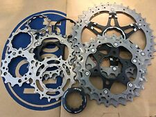 Shimano XTR CS-M980 Cassette 10 Speed 11-36T Dyna-Sys 5 Titanium rings 270 Grams