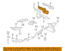 TOYOTA OEM 00-03 Celica-Exhaust Manifold 1714188H00