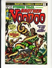 STRANGE TALES 170 VERY GOOD MARVEL COMICS BOOKS LOT 1ST BROTHER VOODOO! (1973)