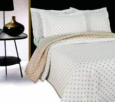 Édredons et couvre-lits lavable en machine blancs pour chambre à coucher