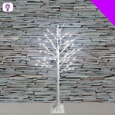 LED White Birch Style Wire Tree - 90cm or 150cm Christmas Wedding Decoration
