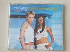 "Melanie C - Never Be The Same Again ft Lisa ""Left Eye"" Lopes 4 Track CD Single"