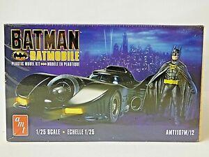 AMT Batmobile Plastic Model Kit with Resin Batman Figure Included