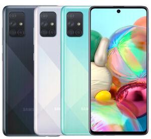 Samsung Galaxy A71 128GB SM-A715F/DS 6.7 in Factory Unlocked 6GB/8GB RAM Phone