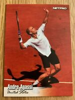 2003 NETPRO TENNIS TRADING CARD - ANDRE AGASSI