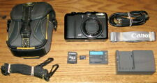 Canon PowerShot G9 12.1 MP 6.0x Optical Zoom Lens UVGC Black Guarantee Bundled