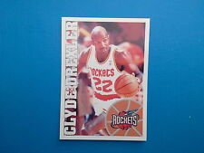 1995-96 Panini NBA Basketball Sticker N.165 Clyde Drexler Houston Rockets