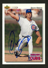 Dave Smith #549 signed autograph auto 1992 Upper Deck Baseball Card