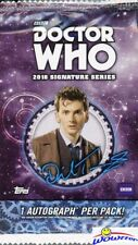 2018 Topps Doctor Who: Signature Series Factory Sealed HOBBY Pack with AUTOGRAPH