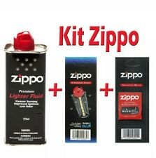 Kit Zippo - Essence 125ml + Mèche + 6 Pierres - Marque ZIPPO LIVRAISON GRATUITE