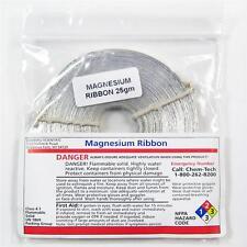NC-12121  Magnesium Ribbon Roll, 25-31 grams