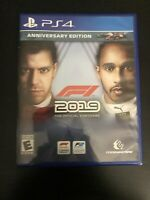 F1 2019 Anniversary Edition Sony PlayStation 4 PS4. - Fast Free Shipping