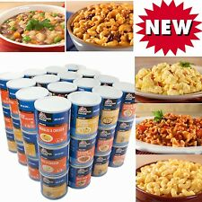1 YEAR MOUNTAIN HOUSE FOOD ENTREES  #10 CANS CASES FREEZE DRIED 664 servings NEW