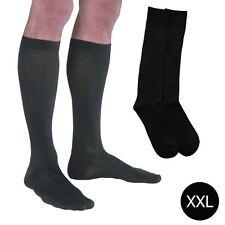 1 Pair Mens Ladies Flight Travel Socks Comfy Safe Dvt Compression Knee High M-XL