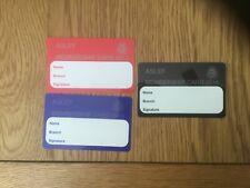 Railway membership cards train drivers union