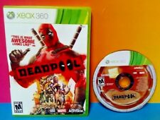DeadPool Marvel Dead Pool - Microsoft Xbox 360 Game Tested Works !