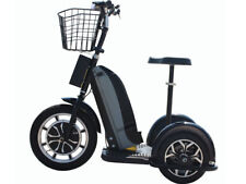 MT-TRK-800 Moto Tec Electric 3 Wheel Battery Powered Folding Scooter Transporter