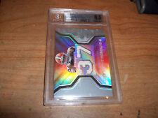 2007 SPX Football Brady Quinn Graded Rookie Dual Jersey Card #WMS-BQ2 NM-MT 8.5