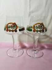 The Leyerth Brewery Urthel Beer Glass Hop-It Pache Vlaemse Bock Set Of 2