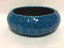 Allusions @ Bhs Sea Blue Unique Mosaic Design Stunning Rounded Bangle