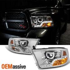 [Angel Mono-Eye Tech] 2009-2016 Dodge Ram 1500 2500 3500 Halo LED Headlights Set