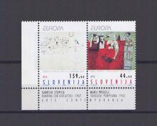 SLOVENIA, EUROPA CEPT 1993, CONTEMPORARY ART with MARGINS, MNH