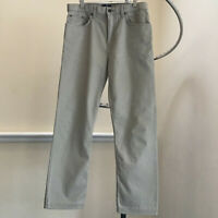 Mens M&S Blue Harbour Stormwear Denim Taupe Jeans W34 L 33