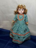 """Antique German Doll MOA 14"""" Tall 1930's"""