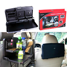 Car Dining Table/Travel Food Holder and Tray / Rear Seat Cargo Storage Organizer
