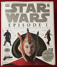 Star Wars: Episode I - The Visual Dictionary (1999) - Hardcover - DK Publishing