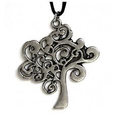 Colgante árbol de la vida de metal con cable made in italy