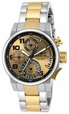 Invicta Women's 17428 I-Force Qtz Chronograph Blk, Gold Watch, UPC 886678215171