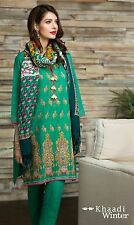 Réplica de traje indio paquistaní khaadi Kameez Shalwar sana Safinaz gulahmed Khadar
