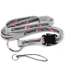 Kingston Lanyard Neck Strap for Flash Drive ID Card Holder KeyChain